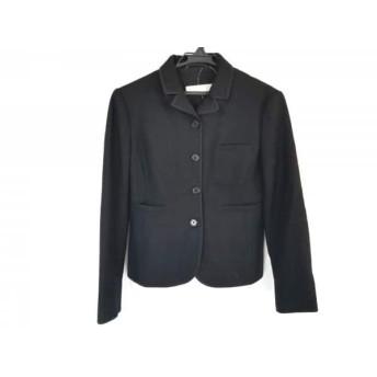 【中古】 ミュウミュウ miumiu ジャケット サイズ40 M レディース 黒