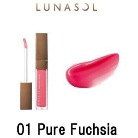 定形外は送料290円から カネボウ ルナソル シアーライトグロス 01 Pure Fuchsia