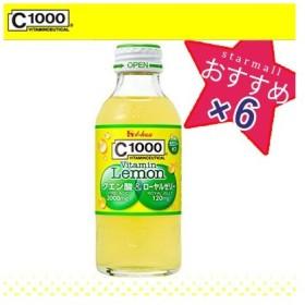 C1000 ビタミンレモン クエン酸&ローヤルゼリー 140mL×6本 / ハウスウェルネスフーズ C1000
