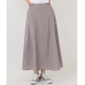 [マルイ]【セール】【洗える】フラワープリントAラインロング スカート/シェアパーク レディス(SHARE PARK LADIES)