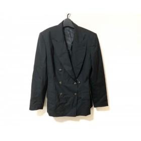 【中古】 ゴルチエ JUNIOR GAULTIER ジャケット サイズ40 M レディース 黒 肩パッド