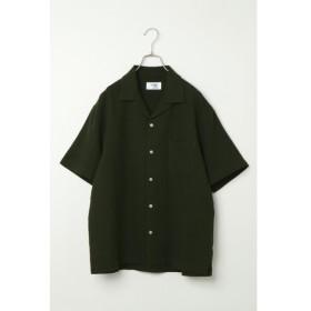[マルイ] 麻混ピケオープンカラーシャツ/イッカ メンズ(ikka)