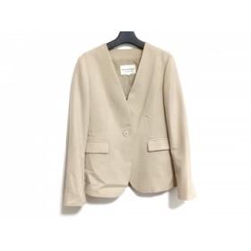 【中古】 ストロベリーフィールズ STRAWBERRY-FIELDS ジャケット サイズ2 M レディース ベージュ
