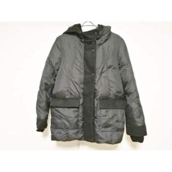 【中古】 スライ SLY ダウンコート サイズ2 M レディース 黒 冬物