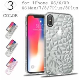 スマホケース TPUケース ダイヤ柄 衝撃吸収 ケース iPhone XR ケース iPhone XS ケース iPhone X ケース iPhone8 ケース カバー ポリカー