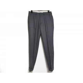 【中古】 トゥモローランド TOMORROWLAND パンツ サイズ46 XL メンズ グレー PILGRIM