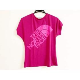 【中古】 ノースフェイス THE NORTH FACE 半袖Tシャツ サイズS レディース パープル ピンク