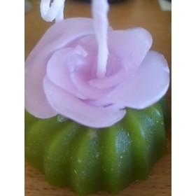 クグロフ薔薇のキャンドル