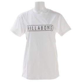 ビラボン(BILLABONG) レディース ボックス ロゴ Tシャツ AJ013214 WBK (Lady's)
