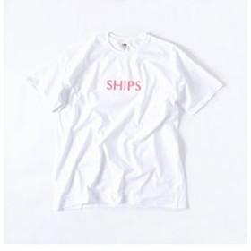 【SHIPS:トップス】SU: 【SHIPS】 エンブロイダリー Tシャツ