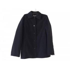 【中古】 バーバリーロンドン ダウンジャケット サイズ38 L レディース 美品 黒 リバーシブル