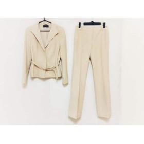 【中古】 アイシービー ICB レディースパンツスーツ サイズ11 M レディース 美品 ベージュ