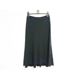 【中古】 ヒロココシノ HIROKO KOSHINO スカート サイズ40 M レディース 黒