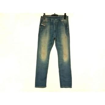 【中古】 ディーゼル DIESEL パンツ サイズ32 XS メンズ ブルー