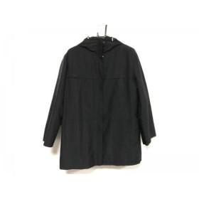 【中古】 カルバンクライン CalvinKlein コート サイズ13 L レディース 美品 黒 冬物