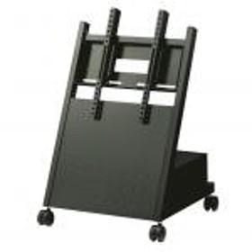 【新品/取寄品/代引不可】ディスプレイスタンド(ブラック/中型用/-49型くらいまで) 低床タイプ XS-3247L