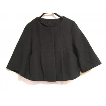 【中古】 アナトリエ anatelier ジャケット サイズ36 S レディース 黒