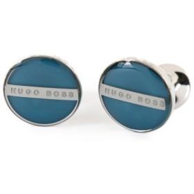 【送料無料!】HUGO BOSS ヒューゴボス カフスボタン NORBERTO 441 ブルー シルバー メンズ