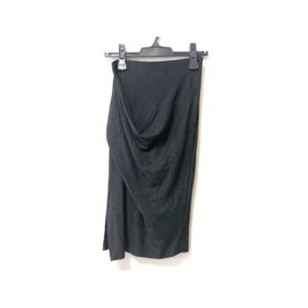 【中古】 エンポリオアルマーニ EMPORIOARMANI スカート サイズ38 S レディース 黒 白