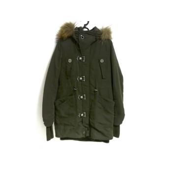 【中古】 スライ SLY コート サイズ1 S レディース カーキ 冬物/SLY MILITARY