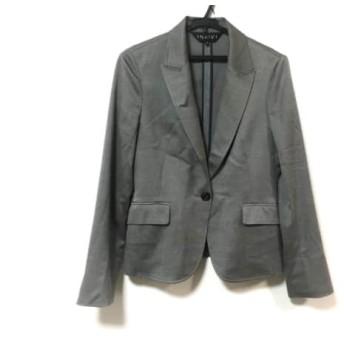 【中古】 インディビ INDIVI ジャケット サイズ38 M レディース 美品 グレー