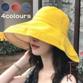 帽子 レディース 送料無料 UVカット 折りたたみ つば広 両面使え 婦人 夏 日よけ 大きいサイズ 小顔効果 旅行 おしゃれ 日焼け止め 30代4