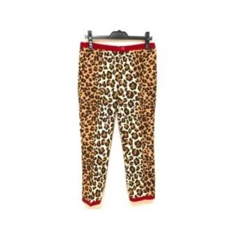 【中古】 モスキーノ チープ&シック MOSCHINO CHEAP & CHIC パンツ サイズ42 M レディース 豹柄