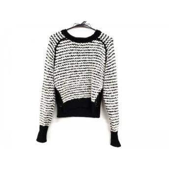 【中古】 イザベルマランエトワール ISABEL MARANT ETOILE 長袖セーター サイズ38 M レディース 白 黒
