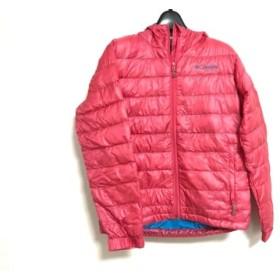 【中古】 コロンビア columbia ダウンジャケット サイズS レディース 美品 ピンク 冬物