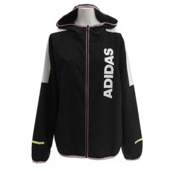 アディダス(adidas) TEAM クロスフーディージャケット FTK56-DV0666 (Lady's)