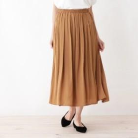 シューラルー(レディス)(SHOOLARUE Ladies)/サテンギャザースカート