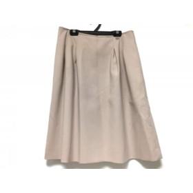 【中古】 フォクシー FOXEY スカート サイズ42 L レディース ピンク