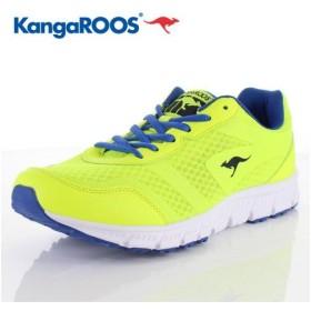 スニーカー カンガルース KangaRoos WALTER 靴 KGR-006 軽量 幅広 クッション ゆったり ローカット イエロー 黄色