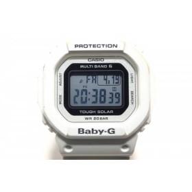 【中古】 カシオ CASIO 腕時計 Baby-G BGD-5000 ボーイズ 白