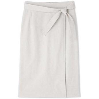 BOSCH / ボッシュ 麻混オックスラップ調スカート