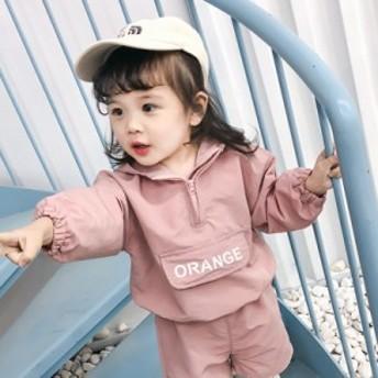 子供服 女の子 ガールズ 2セットオシャレセットアップ 長袖ズボン ファッション感 春
