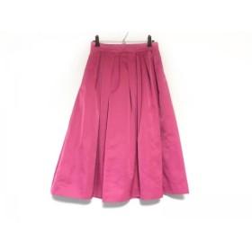 【中古】 マイストラーダ Mystrada ロングスカート サイズ38 M レディース ピンク