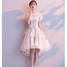 成人式 Aライン ウェディングドレス  ワンピース 大きいサイズ 綺麗 可愛い パーティードレス 冠婚 プリンセスライン 大人 発表会 同窓会