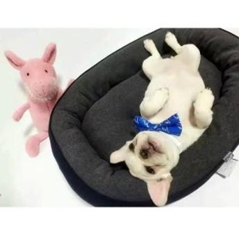 ペットソファ ペットベッド 犬用ベッド ペット用品 犬 小型犬 ベッドマット ペットハウス ブルー 秋 冬 あったか