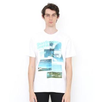 【グラニフ:トップス】Tシャツ/トラベルスカイ