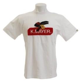クリフメイヤー(KRIFF MAYER) ブランドロゴサガラ刺繍 Tシャツ トレック 1857214-1-WHT (Men's)
