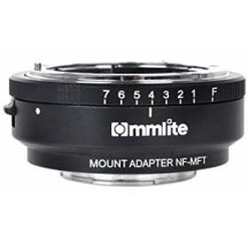 Commlite レンズマウントアダプター CM-NF-MFT   (ニコンFマウントレンズ → マイクロフォーサーズマウント変換)