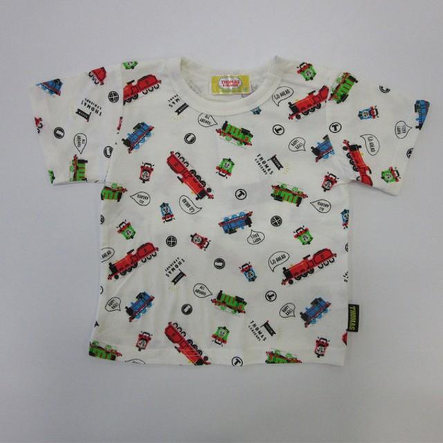 [ベビー]Tシャツ トーマス 半袖 オフホワイト ベビー・キッズウェア ベビー(70~95cm) トップス(男児) (198)
