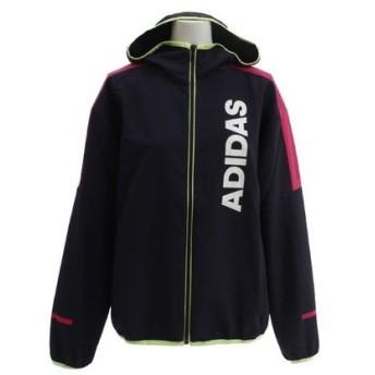 アディダス(adidas) TEAM クロスフーディージャケット FTK56-DV0664 (Lady's)