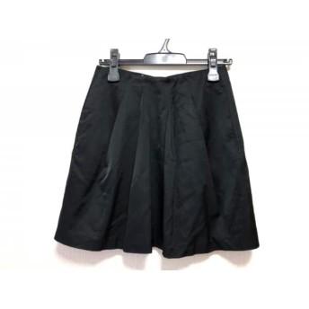 【中古】 エンポリオアルマーニ EMPORIOARMANI スカート サイズ40 M レディース 黒