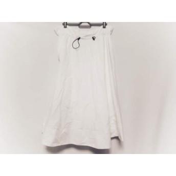 【中古】 ミラオーウェン Mila Owen ロングスカート サイズ0 XS レディース 白