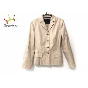 アンタイトル UNTITLED ジャケット サイズ2 M レディース 美品 ベージュ   スペシャル特価 20190806