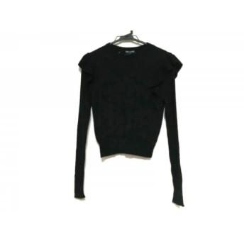 【中古】 オープニングセレモニー OPENING CEREMONY 長袖セーター サイズOS レディース 黒 フリル