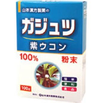 山本漢方 ガジュツ 紫ウコン粉末100% 100g【P25Apr15】