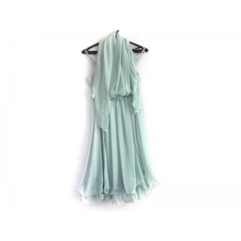 【中古】 エメ aimer ドレス サイズ9 M レディース ライトグリーン